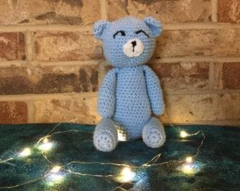 Crochet Sleepy Teddy Bear
