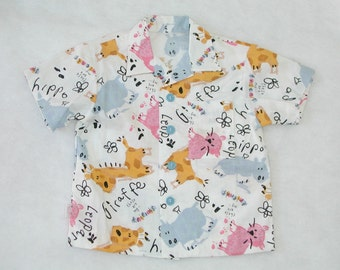 Little Boys Cotton Shirt