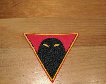 Space Ghost emblem embroidered patch