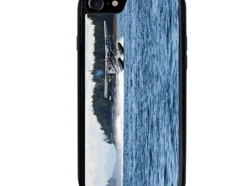 iPhone 5 5s 6 6s 6+ 6s+ SE 7 7+ iPod 5 6 Phone Case, Float Plane, Airplane, Flying, Plus