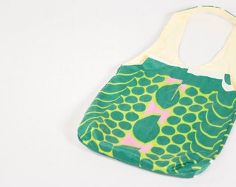 GL Crafts: Upcycled, Tote Bag, Green, Handmade