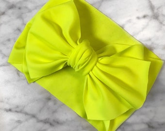 Neon Yellow Wrap