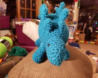 Cuddly stegasaurus