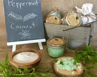 Warm Mint Sugar Scrub