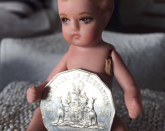 Miniature Porcelain baby doll