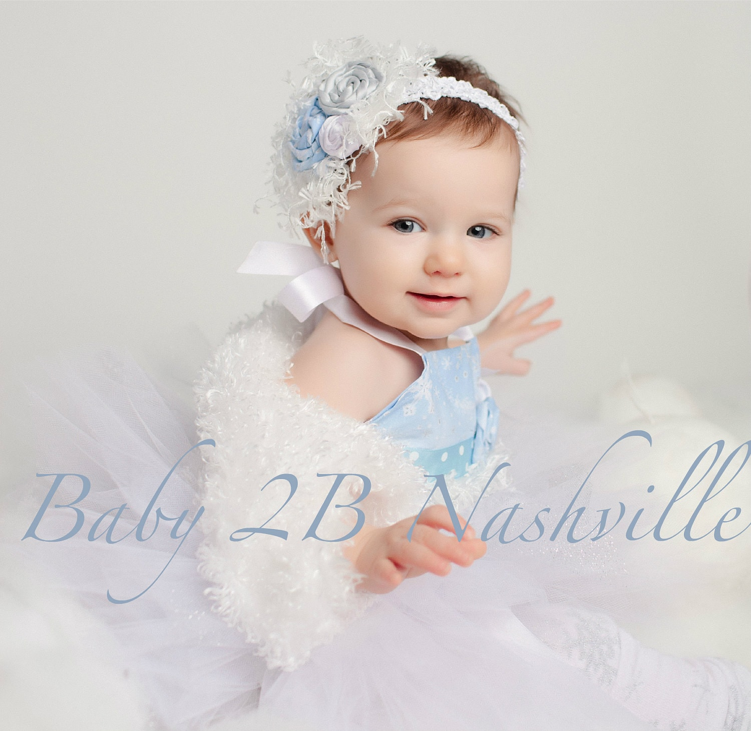 Winter ederland Dress Birthday Dress Snow Princess Dress