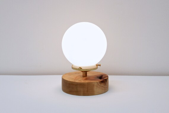 Captivating Night Light Desk Lamp Brass Table Lamp Globe Light