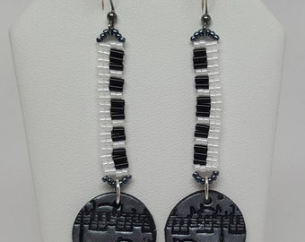 Music Lovers Dangle Earrings