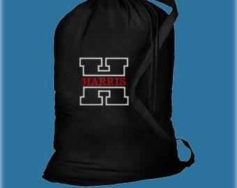 Monogrammed Laundry Bag, Graduation Gifts, Personalized Laundry Bags, College Laundry Bags, Dorm Laundry Bags, Senior Gifts, College Gifts