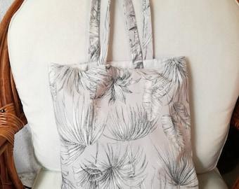Cloth bag, tropical Visual