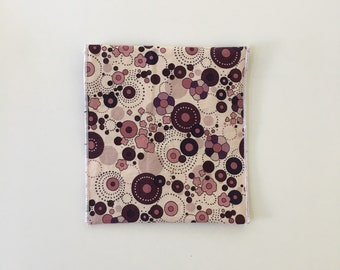 Mod Floral Print Reusable Eco Sandwich/Snack Bag