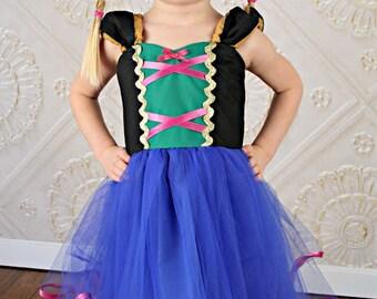 ANNA TUTU dress  princess dress for birthday party dress  or portrait