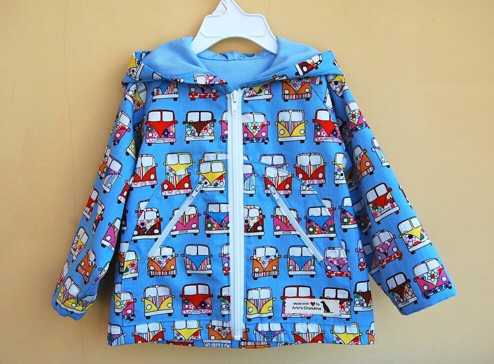 KNIGHT Hoodie Baby Boy Girl Jacket or Raincoat pattern Pdf
