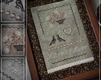 Token of Love / Cross stitch pattern