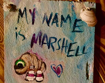 Marcel the Shell - Officially Unofficial ART** - 8.5x8.5 - Marcel the Shell** - Marshell - Pink Shoes - Mermaids Smoke Seaweed
