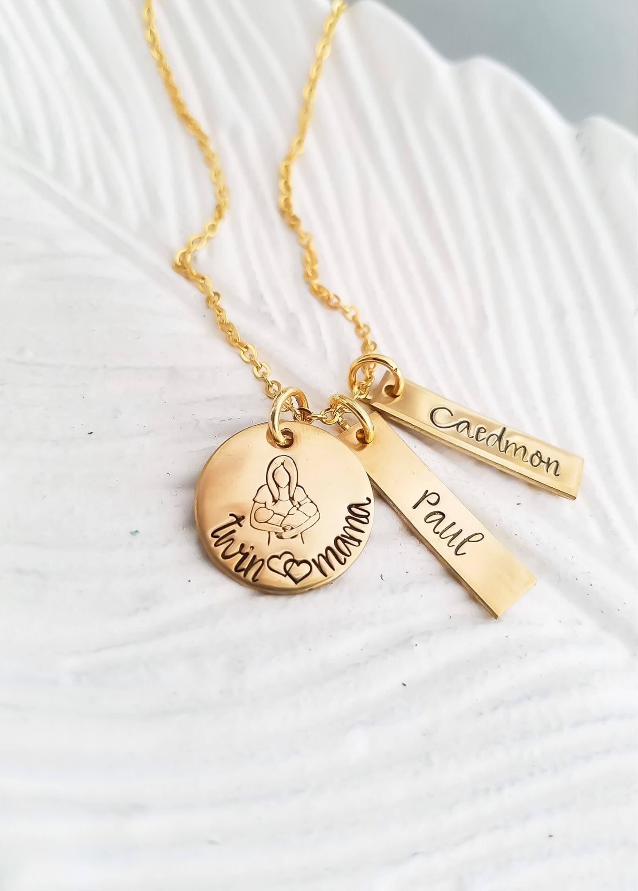 necklace heart pendant page hammered handmade gold handstamped necklaces bar jewelry personalized maddie