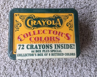 Crayola Collectors ColorsTin