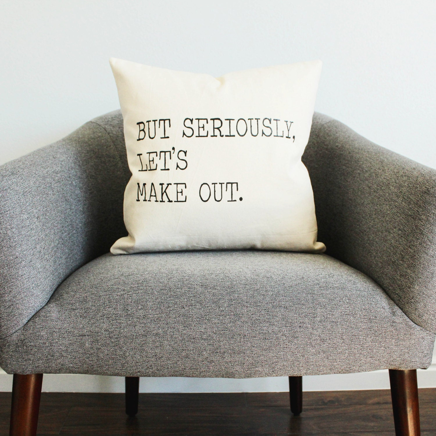 But Seriously Let\'s Make Out Pillow - Home Decor, Gift for Her, Gift ...