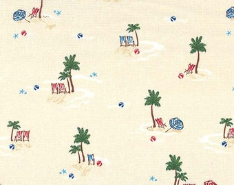 Just Shellin' Life's a Beach in Sand -- 1/2 YD