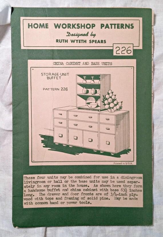 Vintage Furniture Patterns Mid-Century Modern Furniture