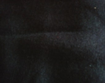 Black Fleece Fabric