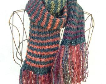 17018 - Handknit scarf
