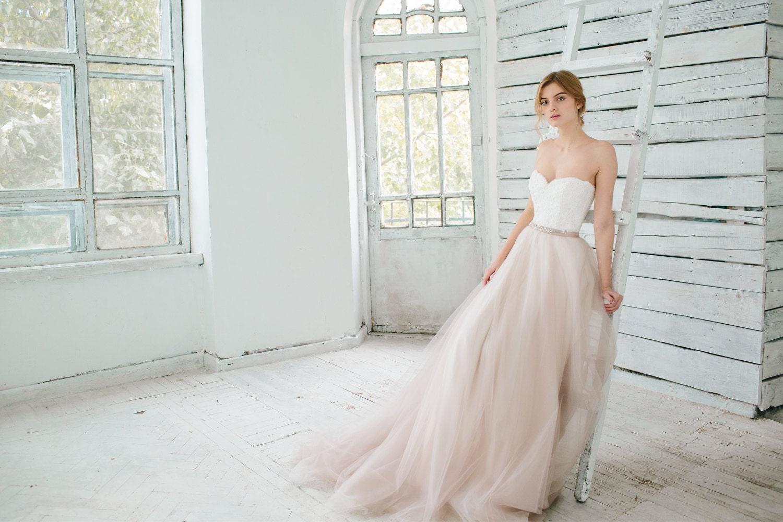 Blush wedding gown dahlia sweetheart corset wedding zoom junglespirit Choice Image