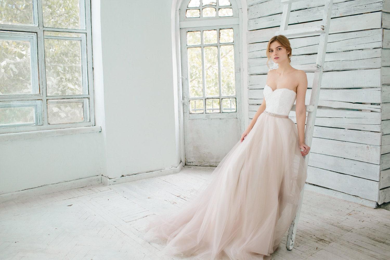 Blush wedding gown dahlia sweetheart corset wedding zoom junglespirit Images
