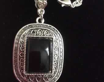SALE !  Black Onyx Statement Necklace