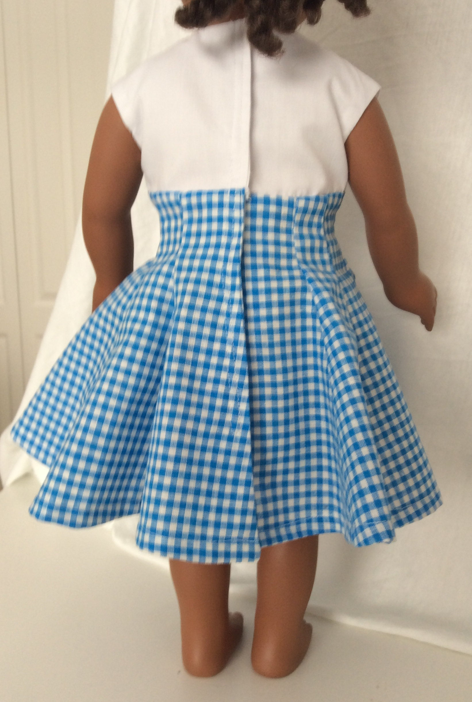 Party and Play date Dress made to fit an 18 inch Doll - One of a ...
