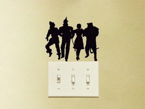 wizard of oz velvet decal dorothy wall sticker teen room