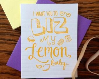 Nerdy Neon -  Liz Lemon