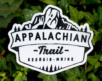Appalachian Trail Vinyl Sticker