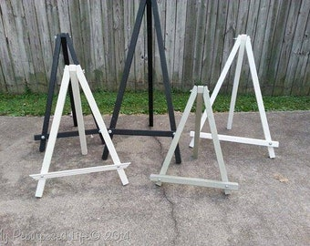 Art easel made to order you choose the size (metal)