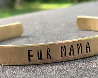 Fur Mama Bracelet, Animal Lover, Dog, Cat