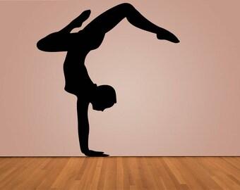 Wall Decal Sticker Bedroom ballet dance boy girl teenager teen kids room 195d
