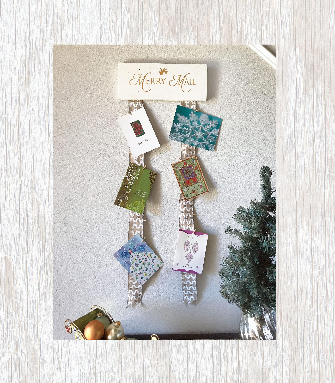Christmas Card Holder Christmas Card Display Greeting Card