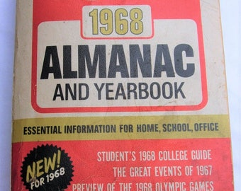 1968 Reader's Digest Almanac and Yearbook