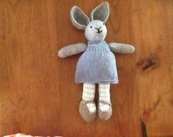 Little knitted rabbit