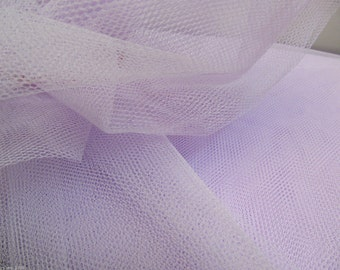 Tulle Netting Dress Fabric 140cm Wide 30 Colour Range -  Iris