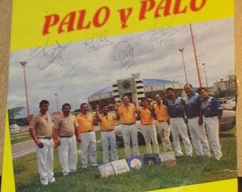 Signed Copy Palo Y Palo Parranda Vencedores De Carabobo Vinyl Latin Record Album