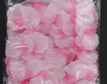 400 piece silk rose petals PINK