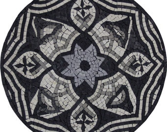 "Art Decor PENDANT 16"" Medallion Marble Mosaic IN633"