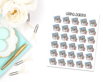 Chill/Relax Planner Stickers