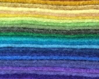 Felt 1 yard Cut-Wholesale Wool Felt-Craft Felt-Doll Making-Embroidery-Rug Making-Sewing-Play Food-Felt Shoes