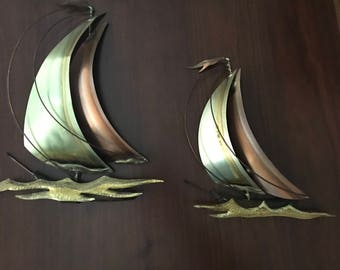 MCM Metalwork Boats Copper/Brass