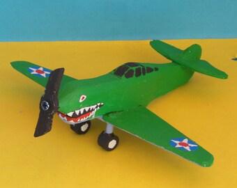 Curtiss Warhawk Toy Airplane