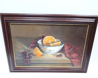 Oil Painting,  Original Oil Painting, Still Life Art, Still Life Painting, Framed Oil Painting, Wall Decor, Wall Art