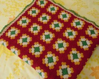 Crocheted Afghan / Throw blanket