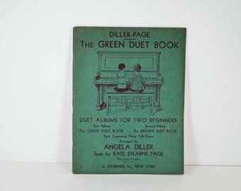 Vintage The Green Duet Music Book